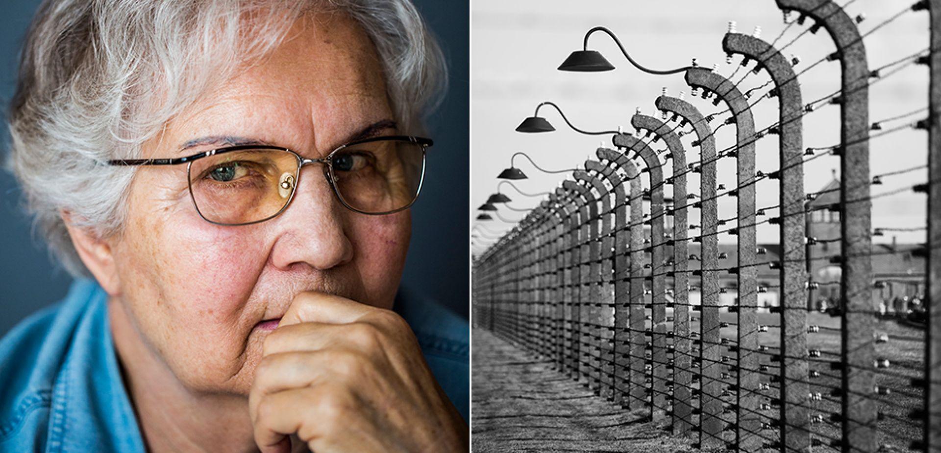 72bcbb60fea1a9 Lidia Maksymowicz w 72. rocznicę wyzwolenia obozu Auschwitz-Birkenau ...