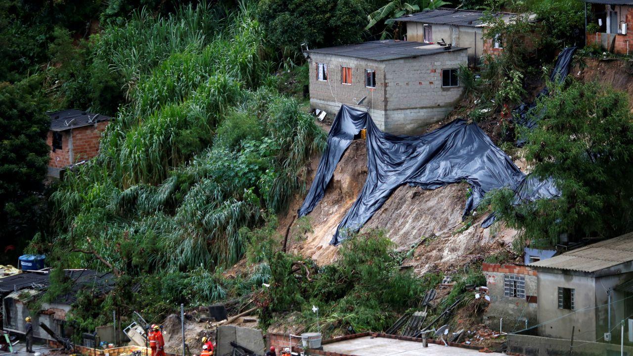 W Belo Horizonte odnotowano największe opady od 110 lat (fot. Reuters/Cristiane Mattos)