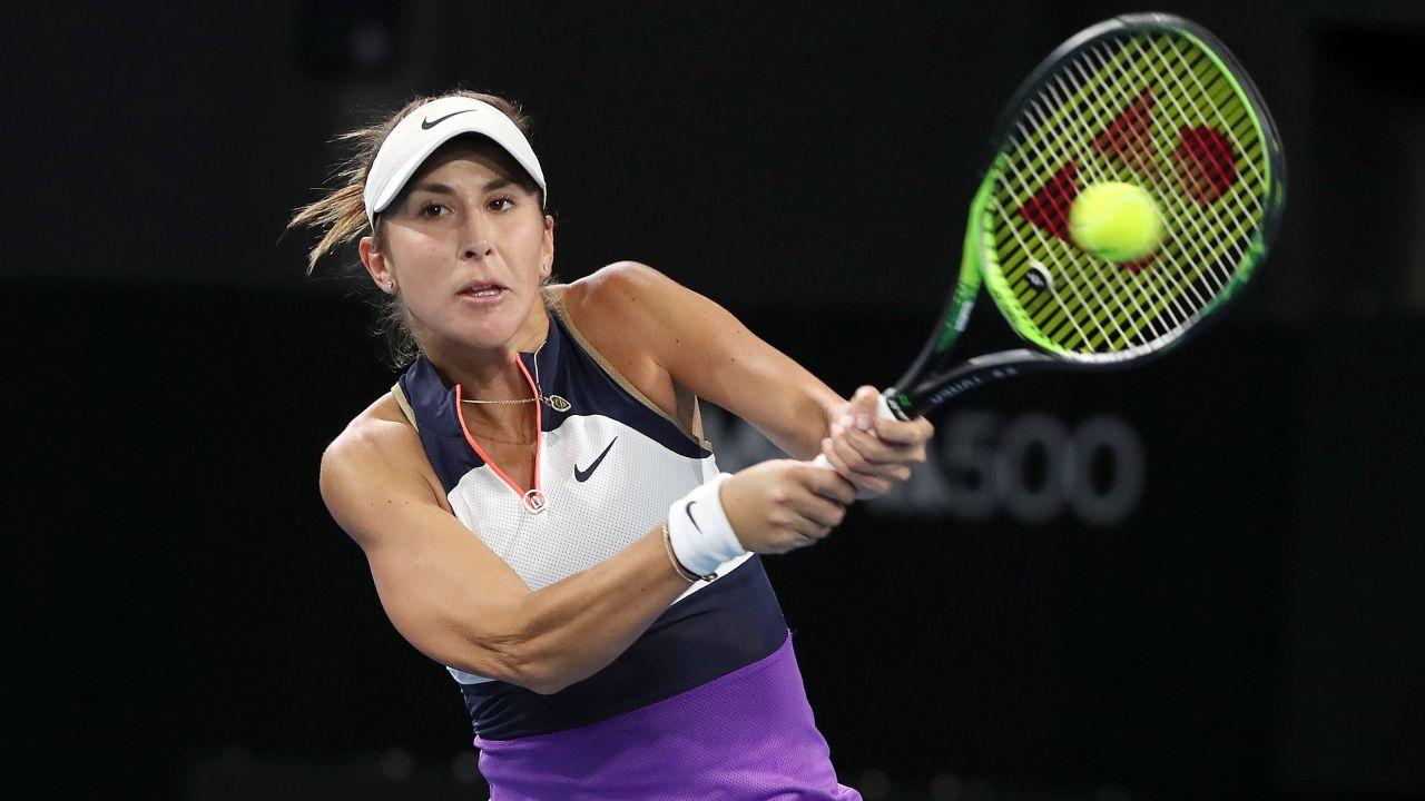 Belinda Bencić to była półfinalistka US Open (fot. Sarah Reed/Getty Images)