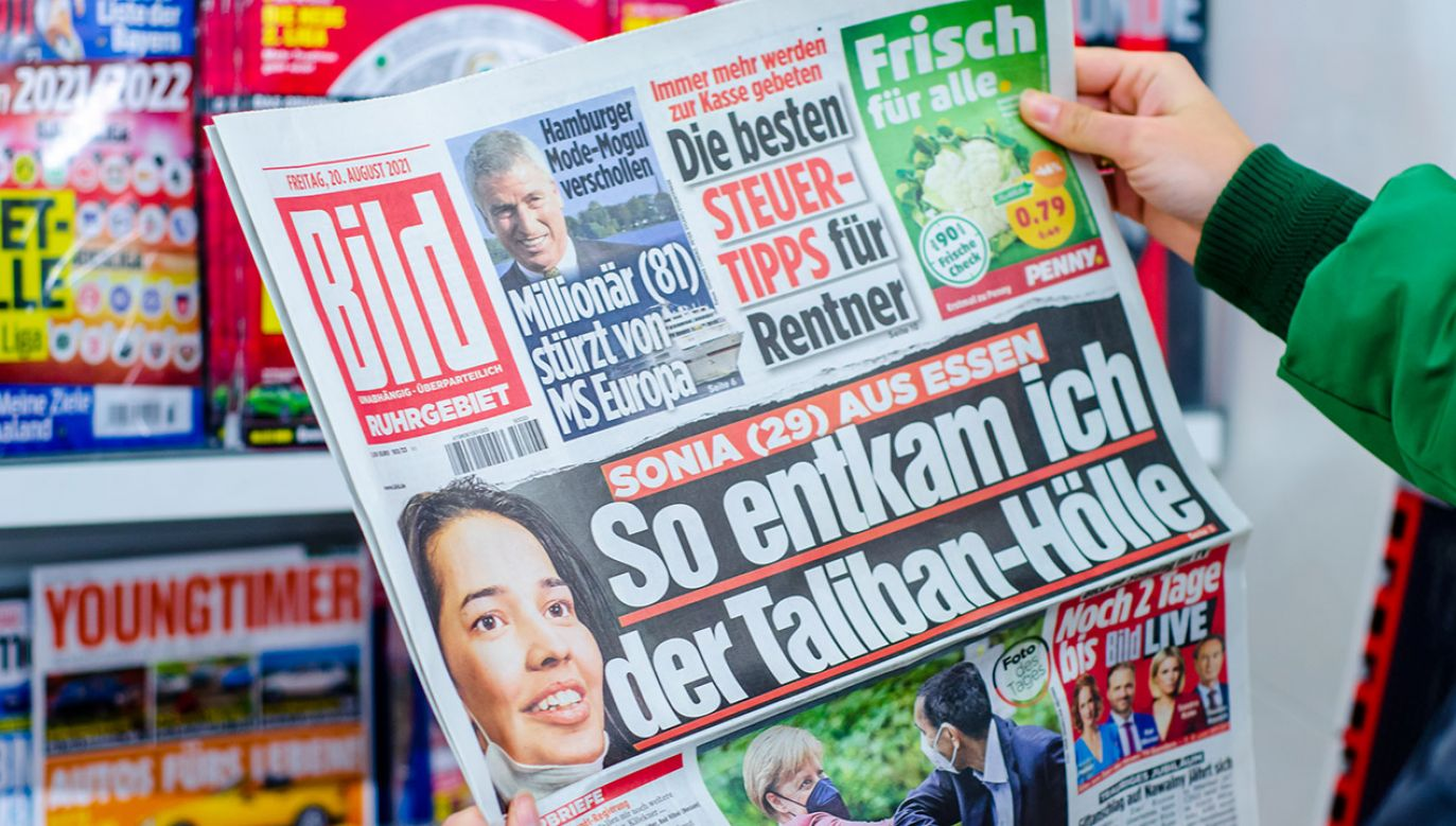 "Nie milkną echa skandalu w niemieckim tabloidzie ""Bild"" (fot. Shutterstock/Lutsenko_Oleksandr)"