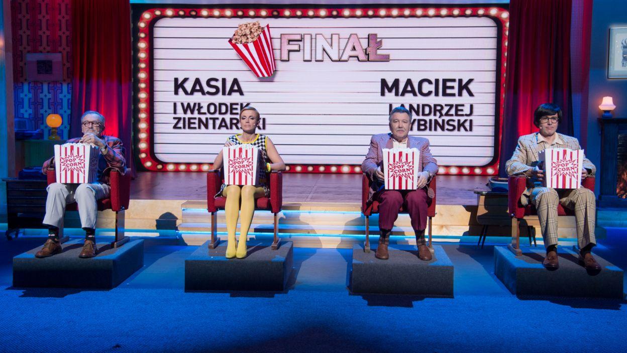 Po tylu wspomnieniach przyszedł czas na finał. Zwycięska drużyna mogła być tylko jedna! (fot. TVP)