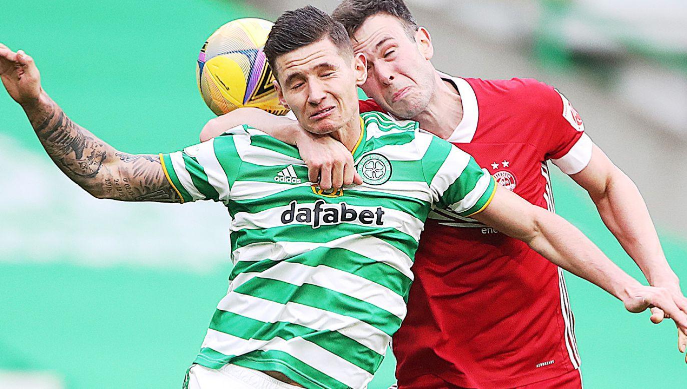 Patryk Klimala był piłkarzem Celitku Glasgow przez niewiele ponad rok (fot.  Ian MacNicol/Getty Images)