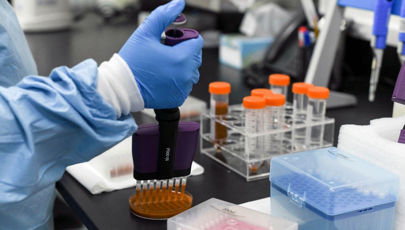 Szczepionka może być dostępna już w 2021 r. (fot. Reuters/Khushnum Bandari)