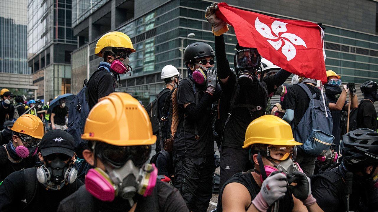 Spór o autonomię Hongkongu (fot. Chris McGrath/Getty Images)