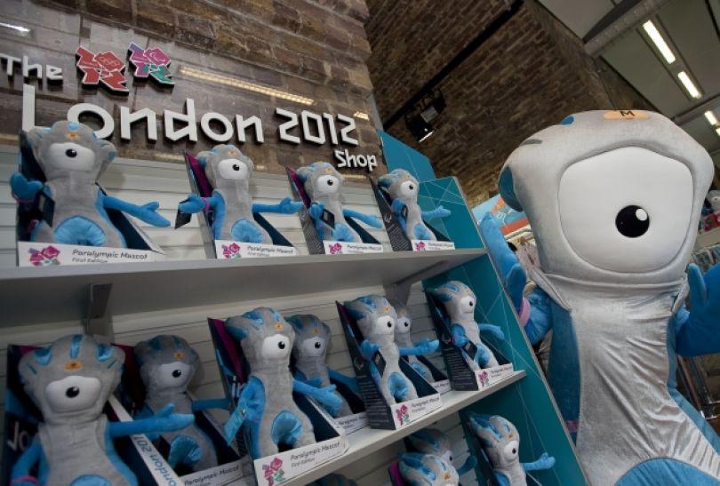 Mandeville – jedna z maskotek igrzysk olimpijskich (fot. LOCOG)