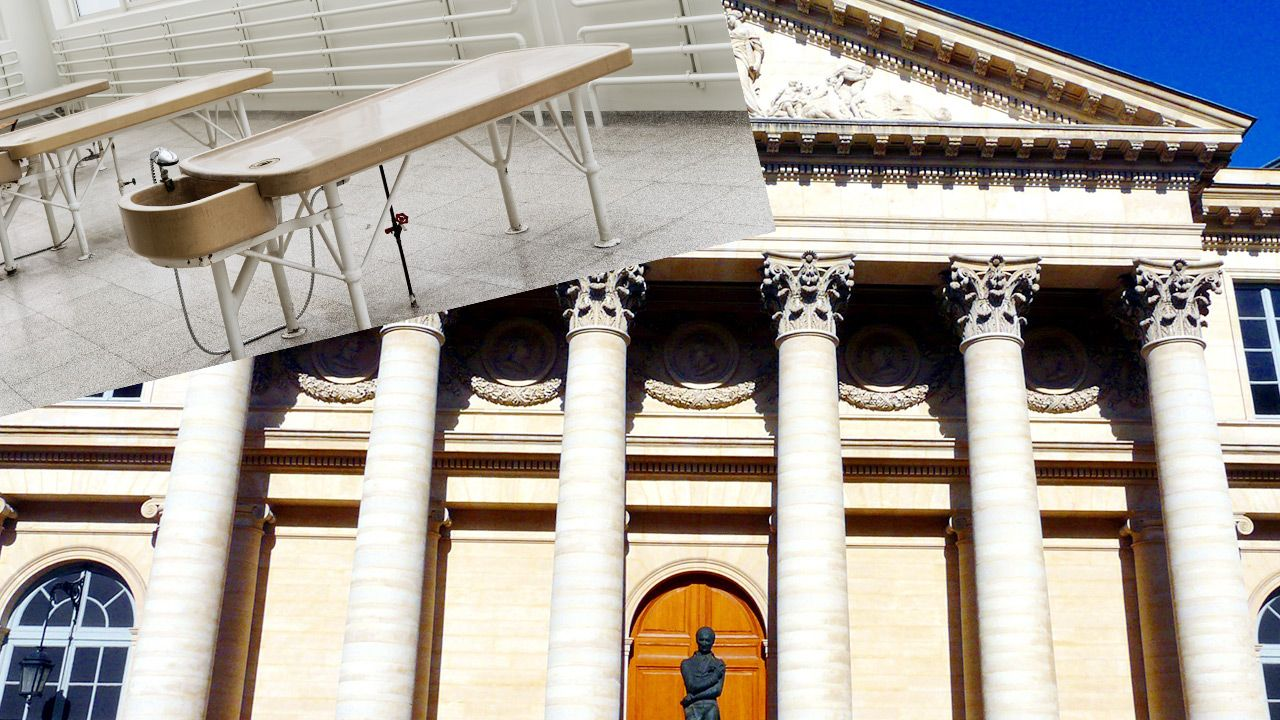 Zbezczeszczenie zwłok na francuskiej uczelni (fot. Shutterstock; Wikipedia)