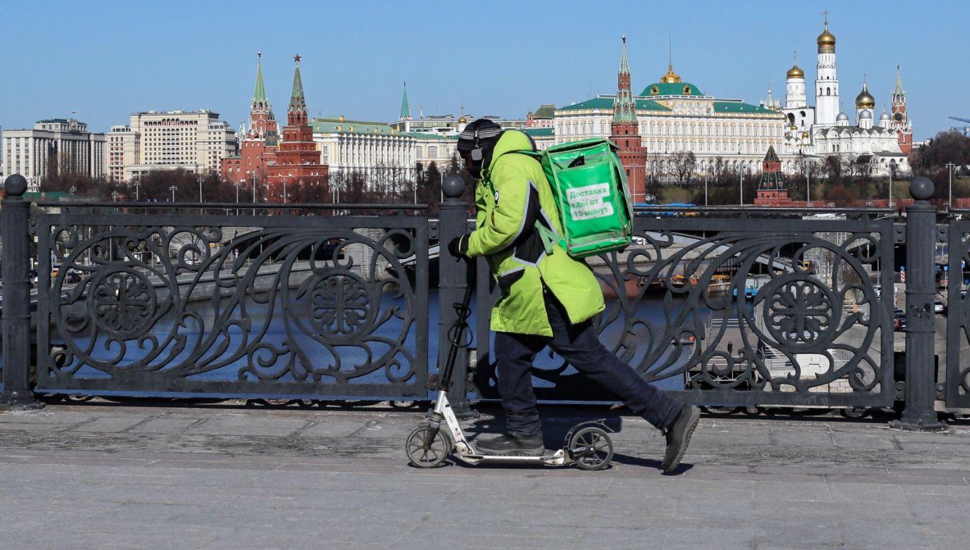 Prezydent Władimir Putin nie miał kontaktu z osobą, która uzyskała pozytywny wynik badania (fot. PAP/ EPA/SERGEI ILNITSKY)