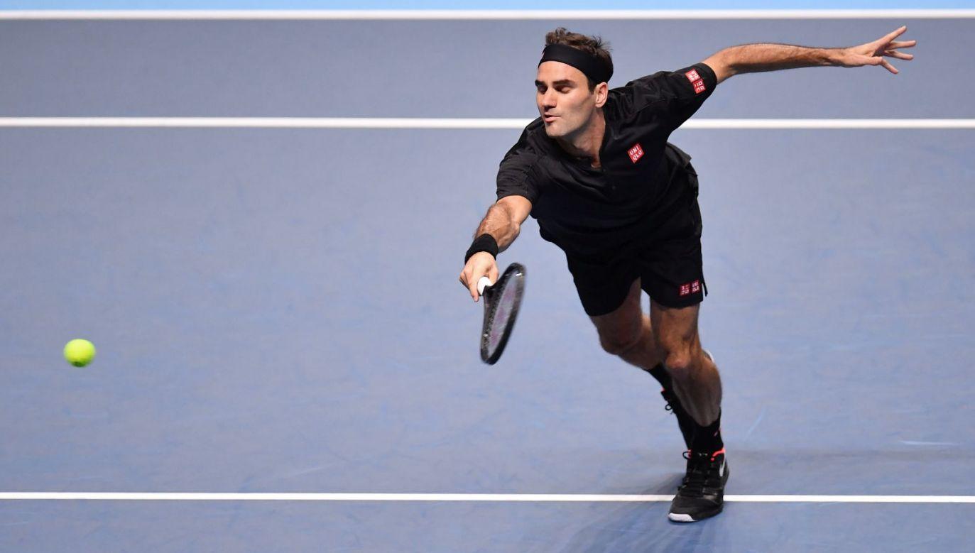 Roger Federer (fot. Getty Images)