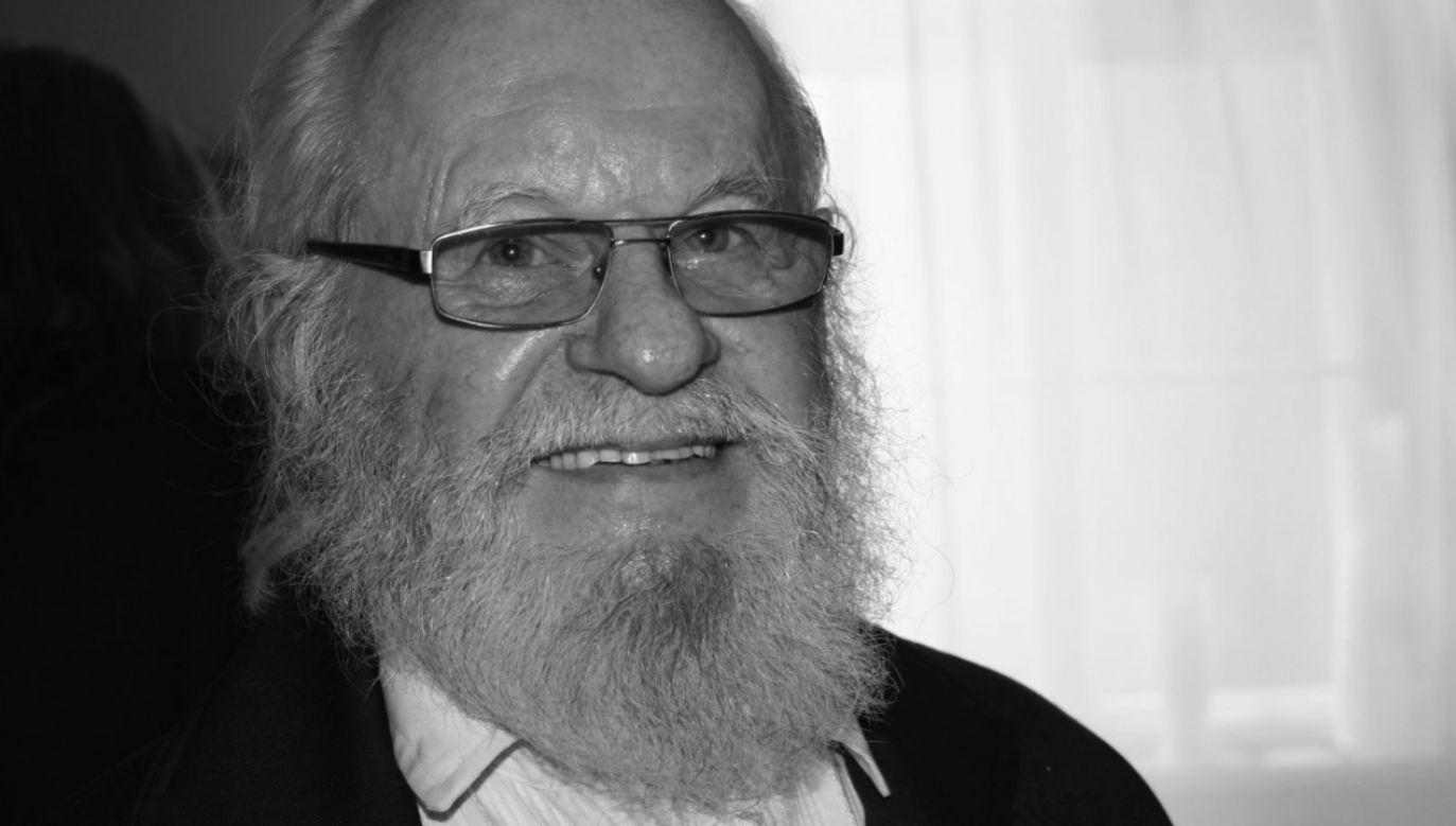 Miał 84 lata (fot. Facebook/Związek Artystów Scen Polskich)