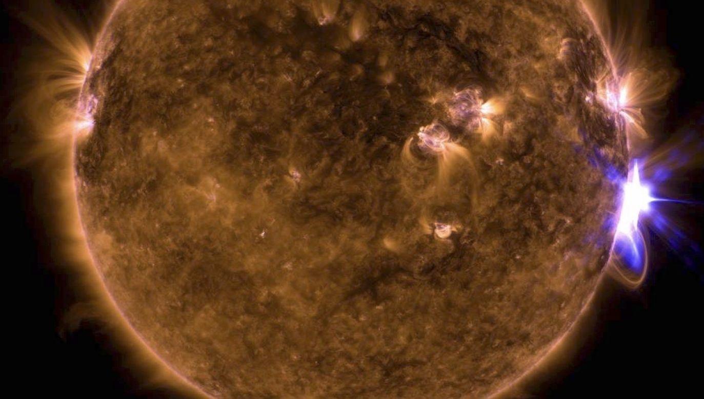 Burze słoneczne w kosmosie (fot. NASA, zdjęcie ilustracyjne)