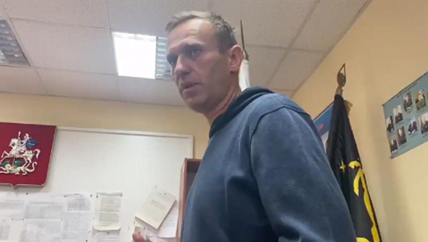 Aleksiej Nawalny cieszył się z powrotu do Rosji (fot. Twitter/Kira_Yarmysh)