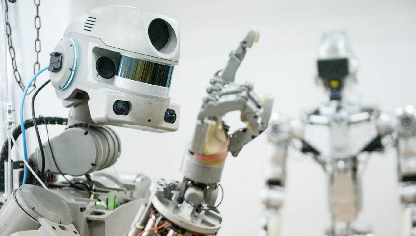 Robot ma wykonywać prace techniczne (fot. yt/Military Technology)