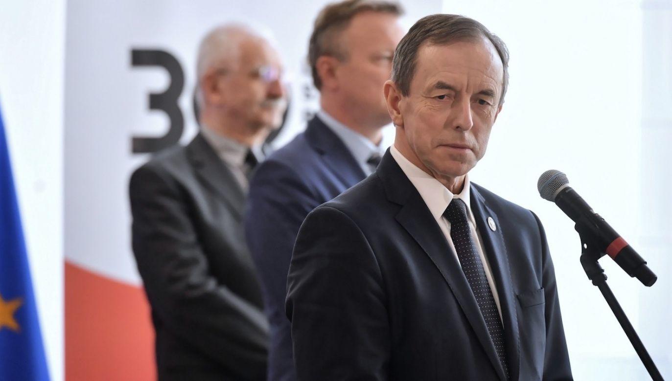 Marszałek Senatu Tomasz Grodzki byłby zdaniem polityków PO świetnym tymczasowym prezydentem (fot. PAP/Piotr Nowak)