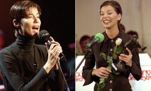 Edyta Górniak w 1994 i 1995 roku (fot. TVP)