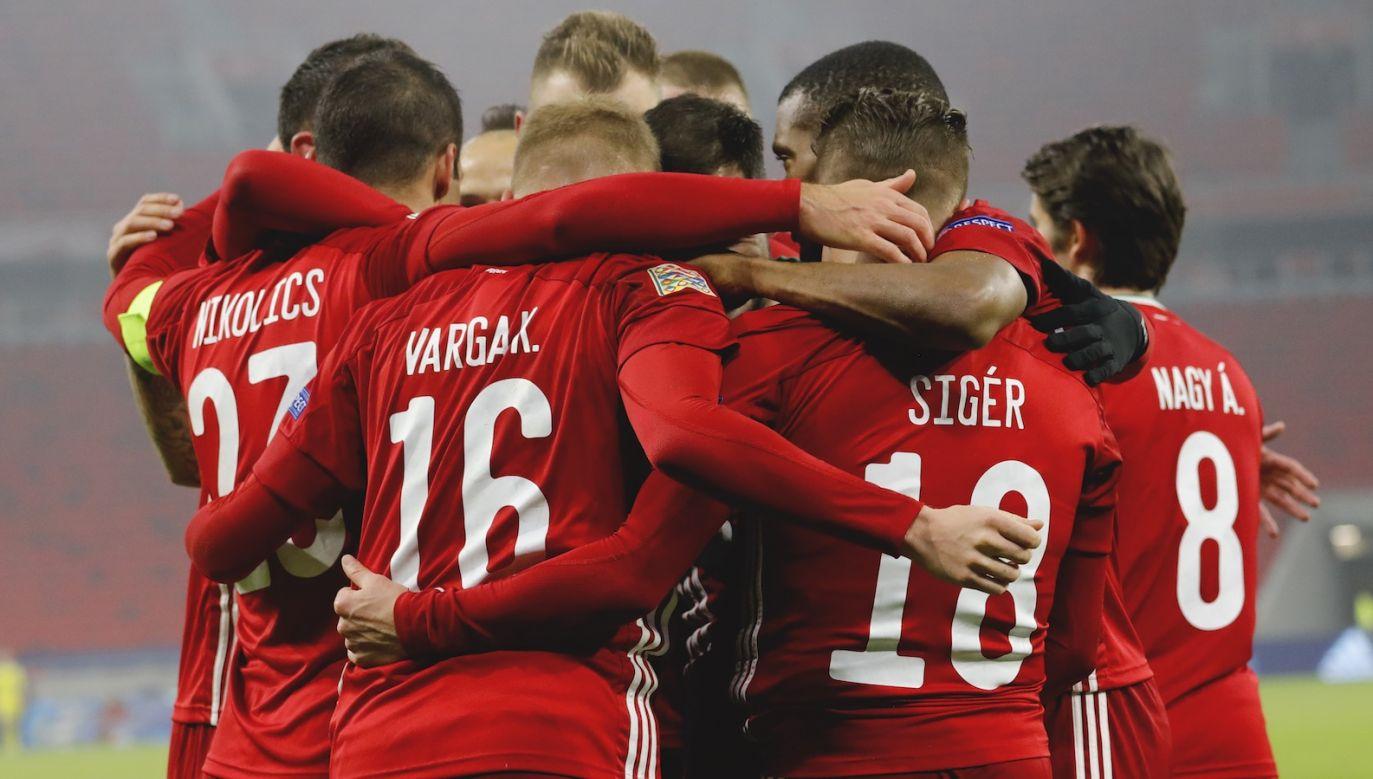 W listopadzie Węgry pokonały Turcję 2:0 (fot. Getty)