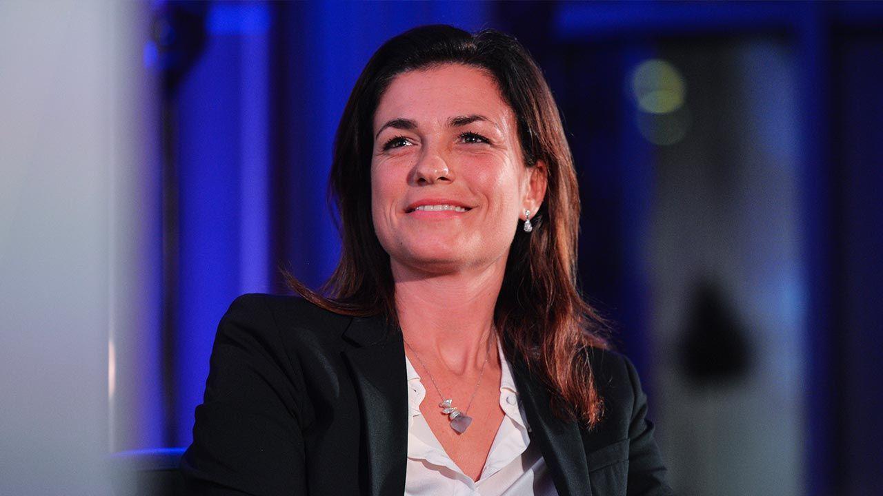 Minister sprawiedliwości Węgier Judit Varga (fot. Artur Widak/NurPhoto via Getty Images)