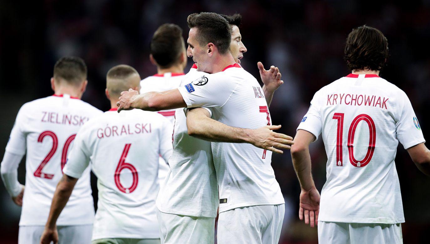 Polacy przed EURO 2020 zagrają cztery mecze towarzyskie (fot.  David S. Bustamante/Soccrates/Getty Images)