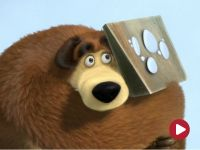 Masza i niedźwiedź, odc. 4 – Ślady zwierząt niewidzianych