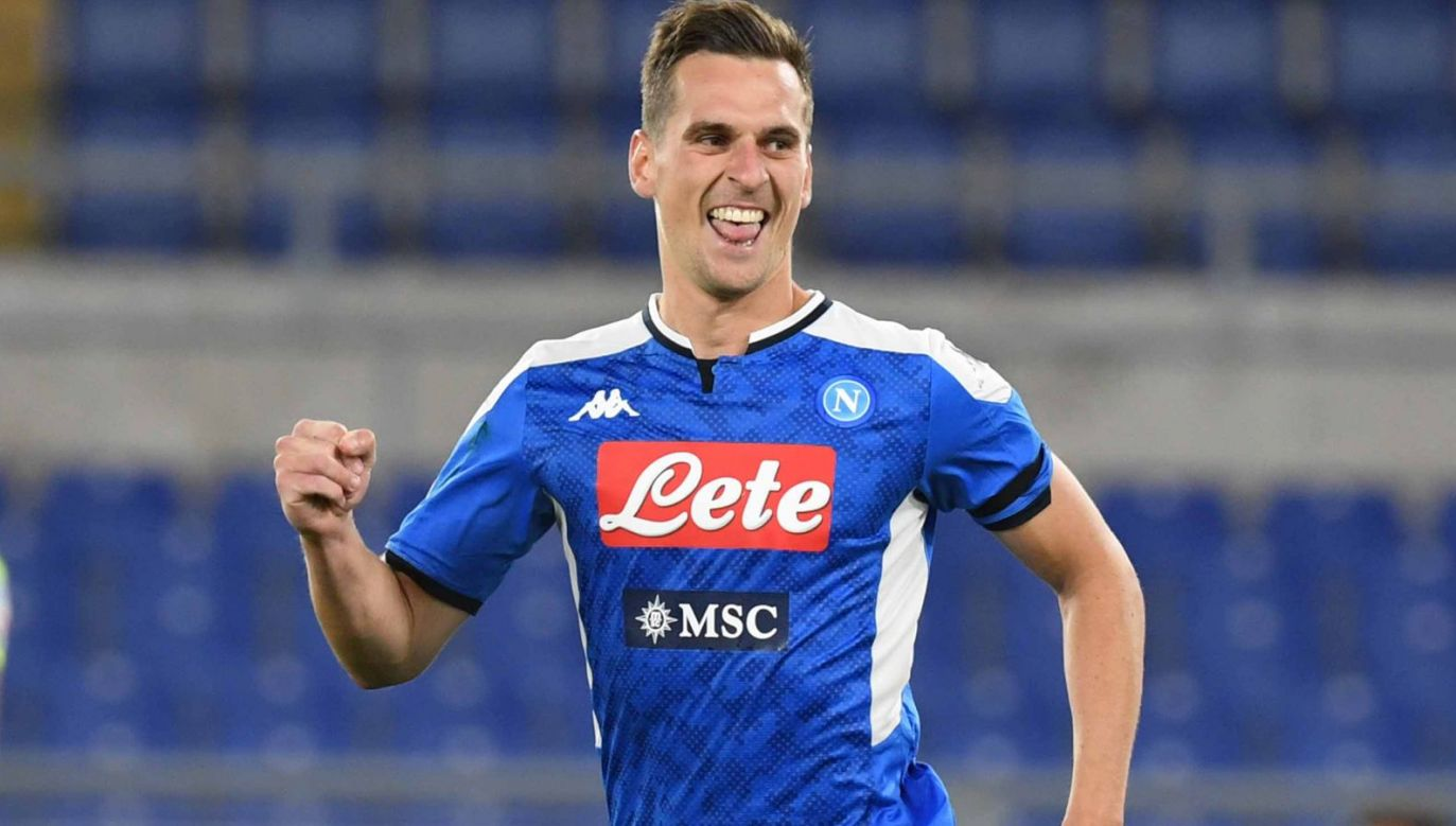 """Według portalu """"Goal"""" Arkadiusz Milik uzgodnił warunki umowy z Juventusem (fot. Getty Images)"""