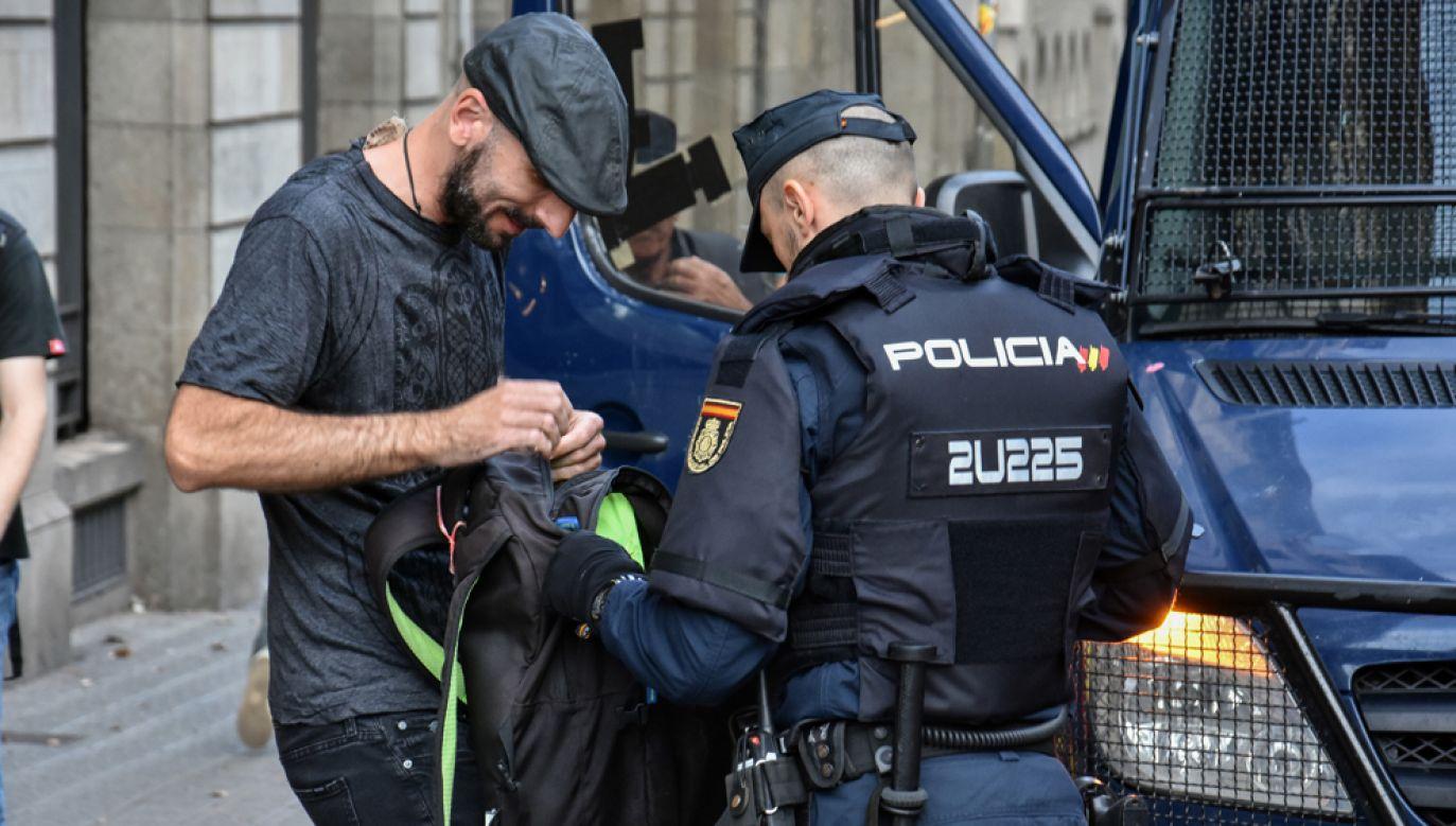 W trakcie protestów zatrzymano łącznie 104 osoby, z których 28 zostały tymczasowo aresztowane (fot. Ramon Costa/SOPA Images/LightRocket via Getty Images)