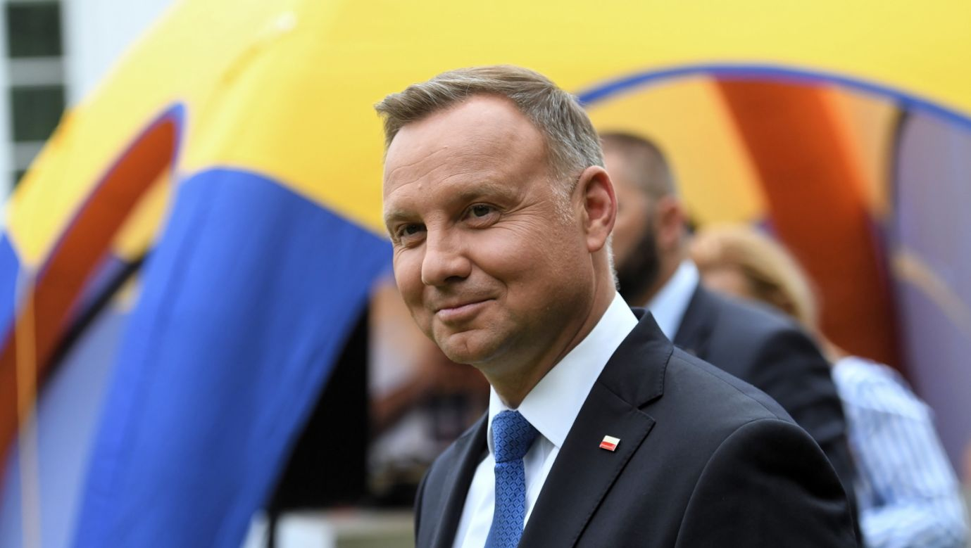Wybory prezydenckie 2020. Prezydent RP Andrzej Duda (fot. PAP/Piotr Nowak)