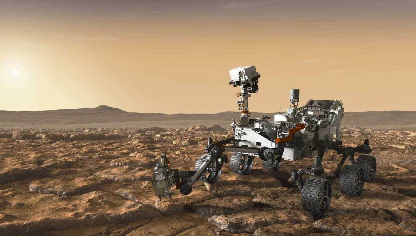 Instrumenty z łazika Perseverance wykonują ważne zadania (fot. NASA)