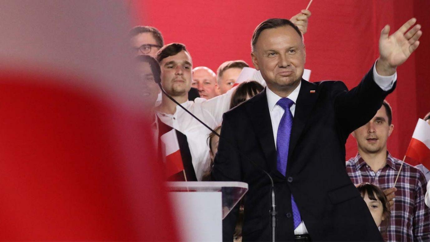 Prezydent Andrzej Duda wygrał w USA (fot. PAP/Leszek Szymański)