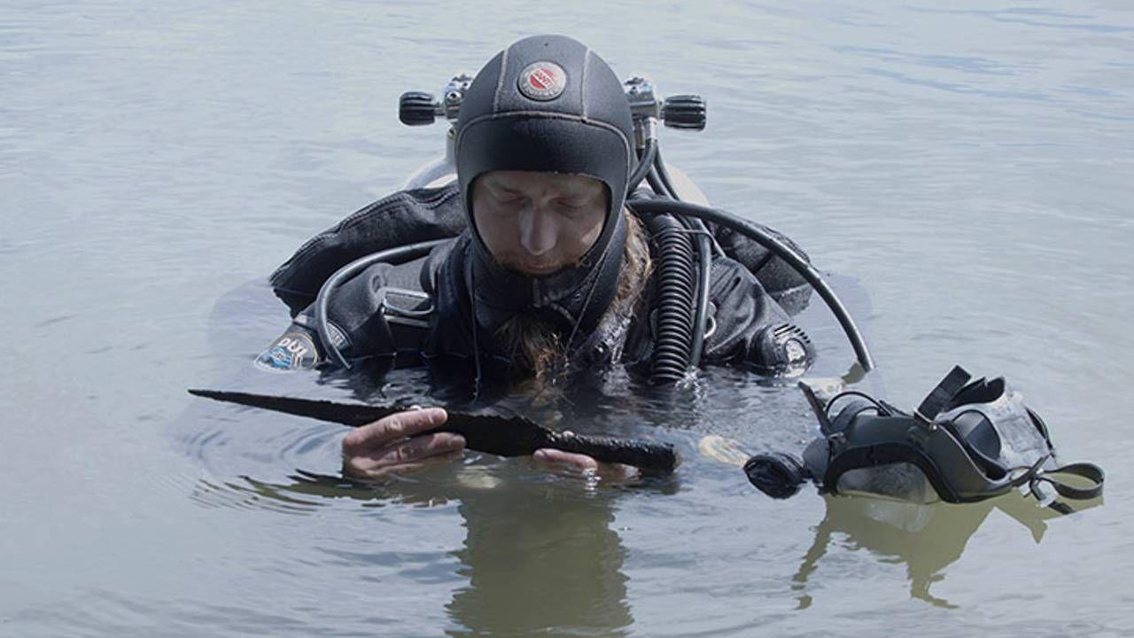 Wody w okolicach Ledniczki skrywają skarby (fot. UMK)