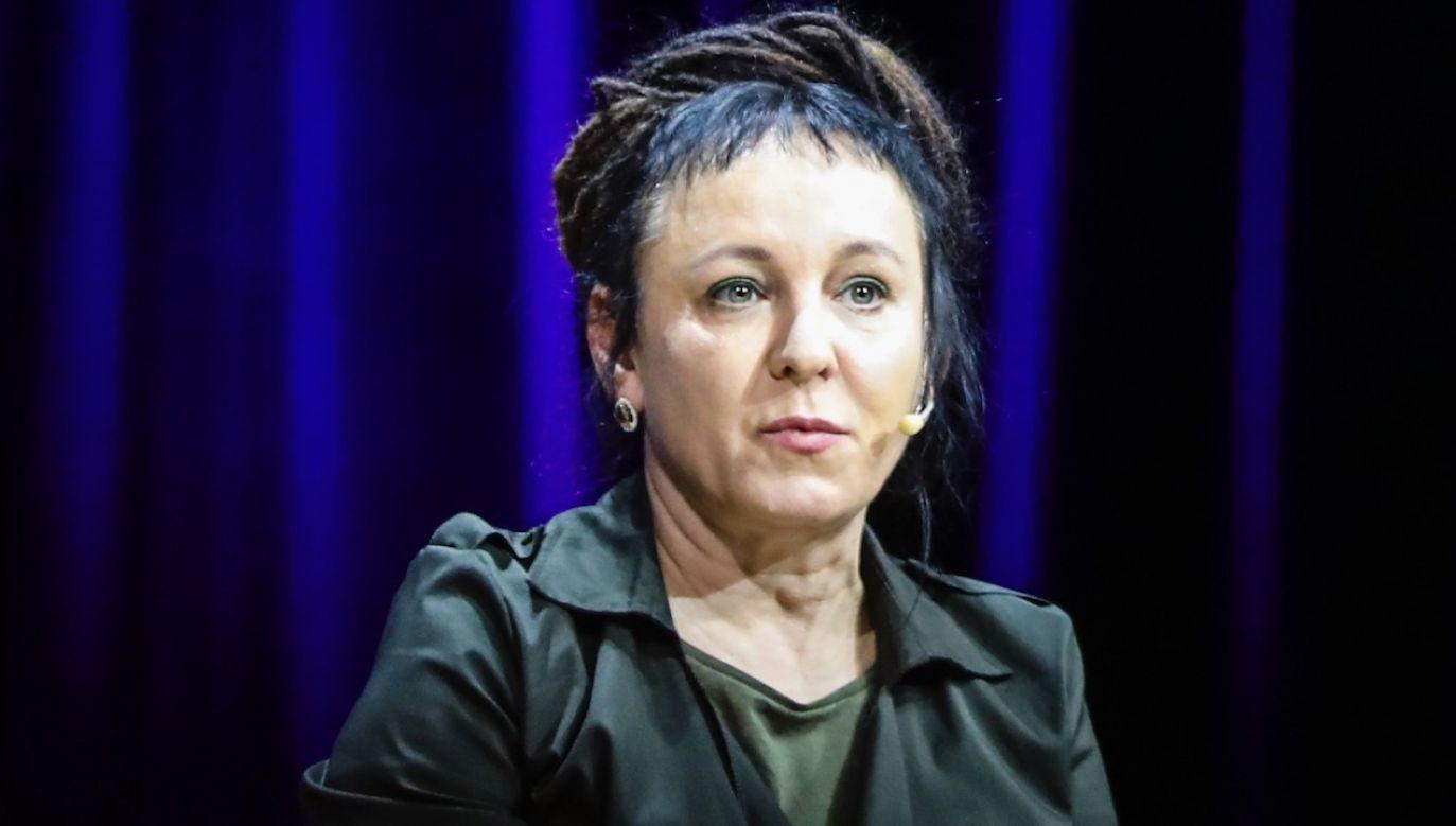 """Pandemia """"prawdopodobnie unieważni zasady gry, które wydawały nam się tak stabilne"""" – napisała Olga Tokarczuk (fot. Beata Zawrzel/NurPhoto via Getty Images)"""