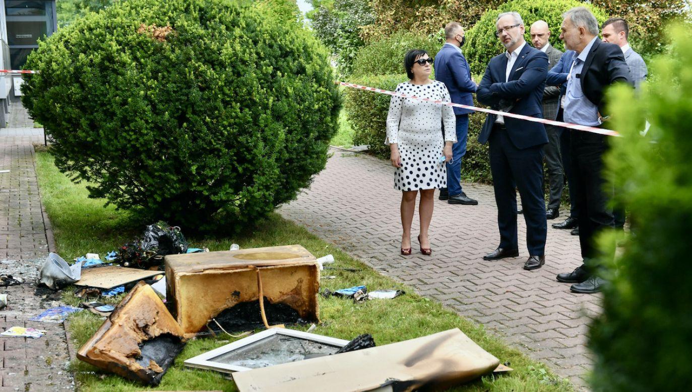 Minister zdrowia komentuje atak w Zamościu (fot. PAP/Wojtek Jargiło)