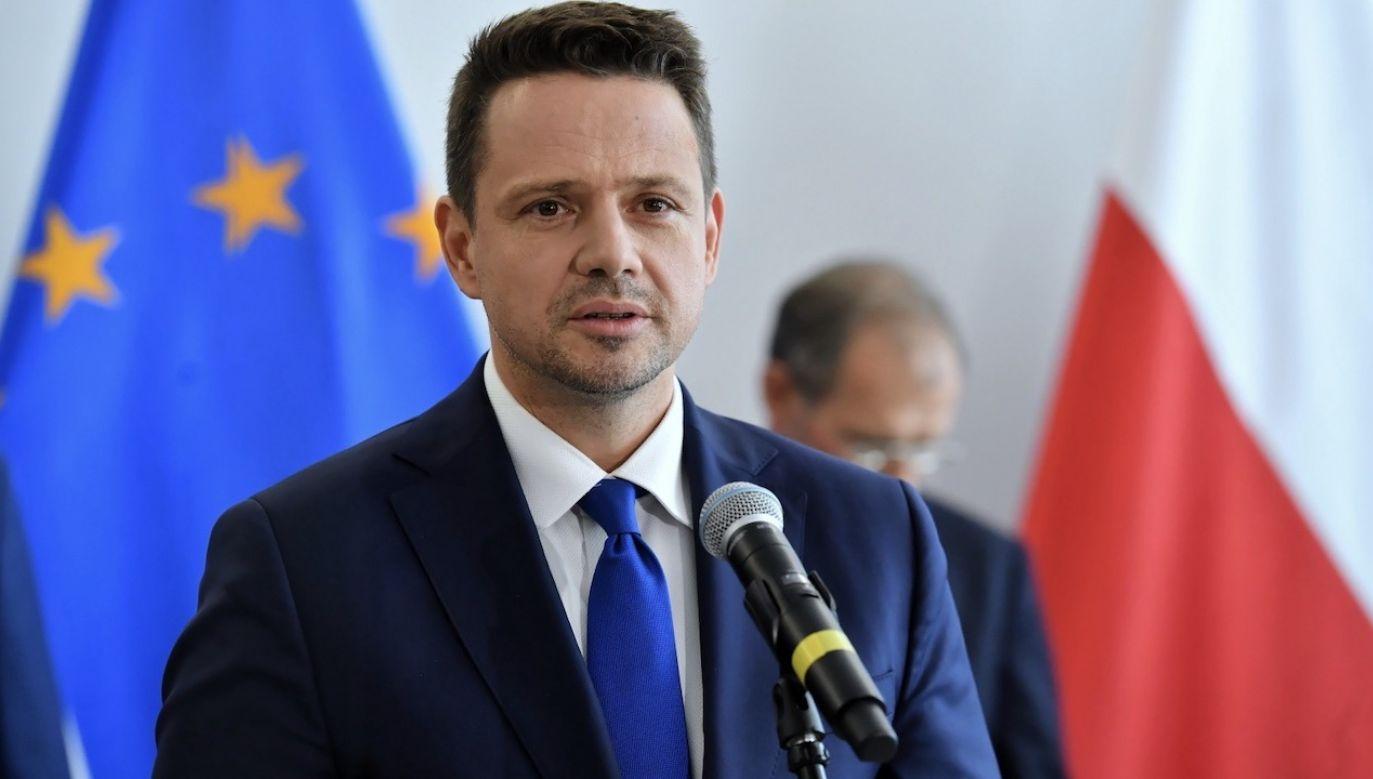 Zbiórka miała zostać zorganizowana w urzędzie miejskim w Świeciu (fot. PAP/Piotr Nowak)