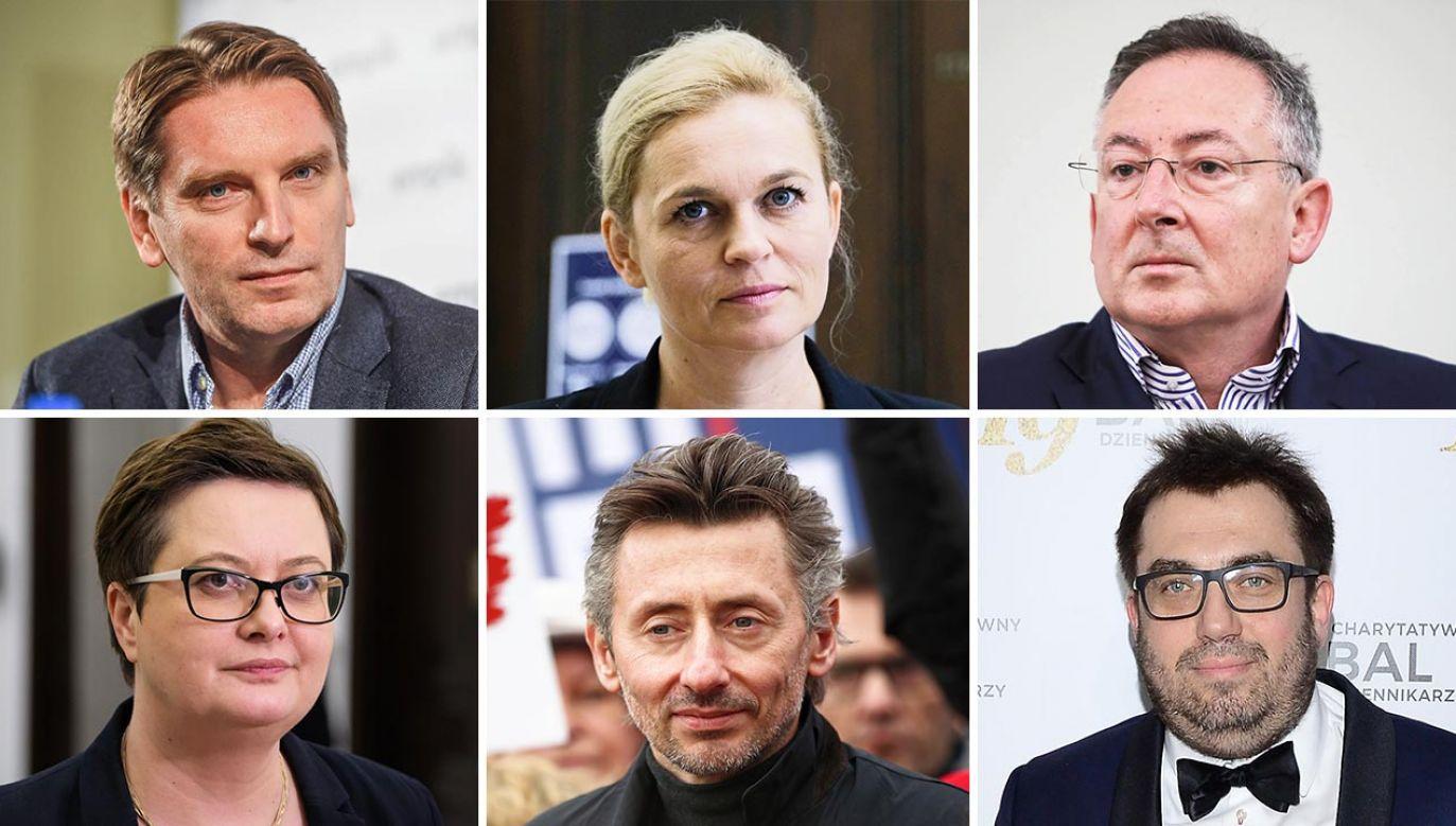 Historyczną ignorancją wykazali się m.in. Bartłomiej Sienkiewicz, Tomasz Lis, Barbara Nowacka, Maciej Gdula, Katarzyna Lubnauer, Bartosz Węglarczyk (fot. PAP; Forum)