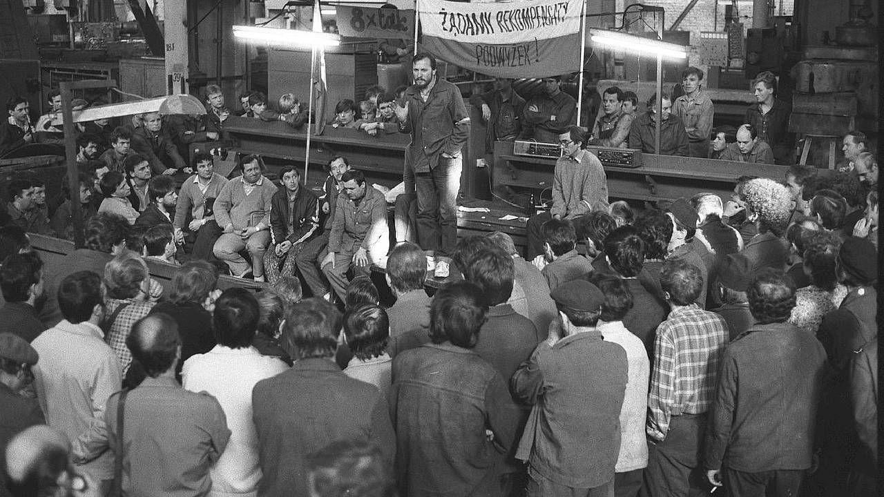 Robotnicy nie ufali komunistycznej władzy (fot. IPN)