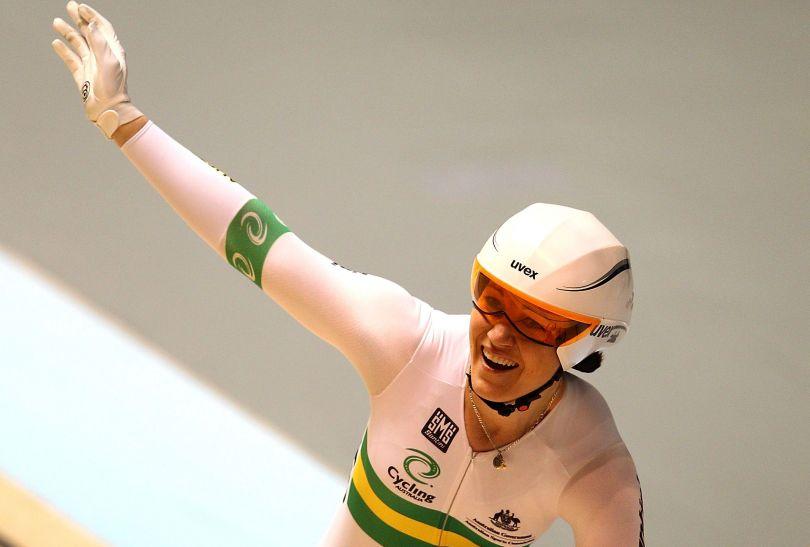 Anna Meares odniosła zwycięstwo w wyścigu na 500 m na czas (fot. Getty Images)