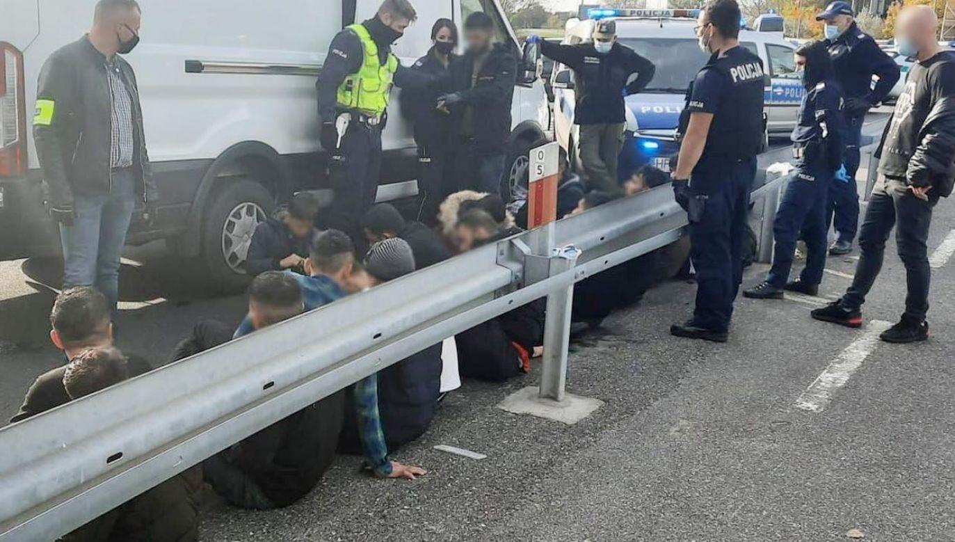 Bus został zatrzymany do kontroli we wtorek (fot. Policja)