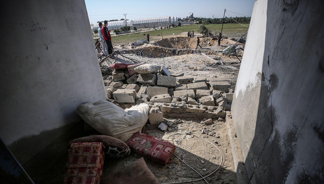 W regionie powinno obowiązywać zawieszenie broni (fot. PAP/EPA/Mohammed Saber)