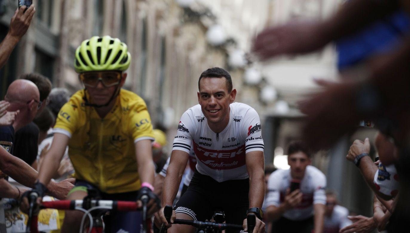 w sobotę rozpoczyna się 106. wyścig Tour de France (fot. PAP/EPA/YOAN VALAT)
