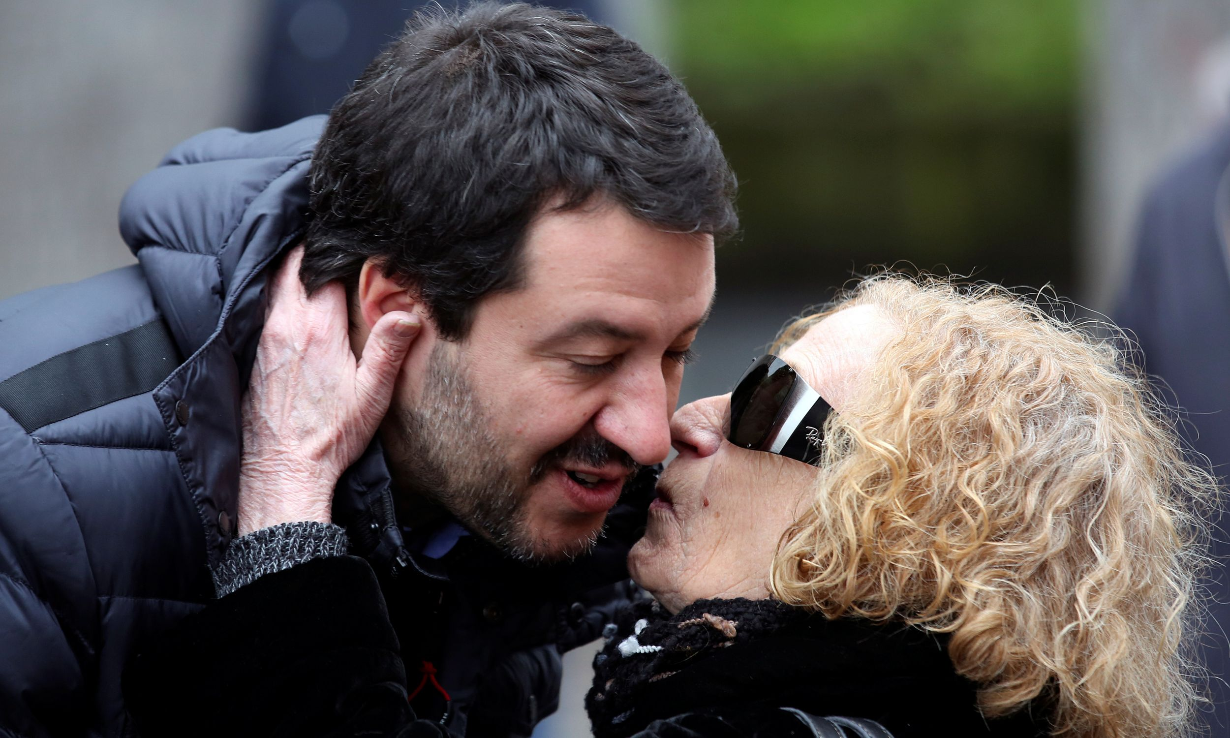 Wiec w Mediolanie, marzec 2018 r. Fot. REUTERS/Stefano Rellandini