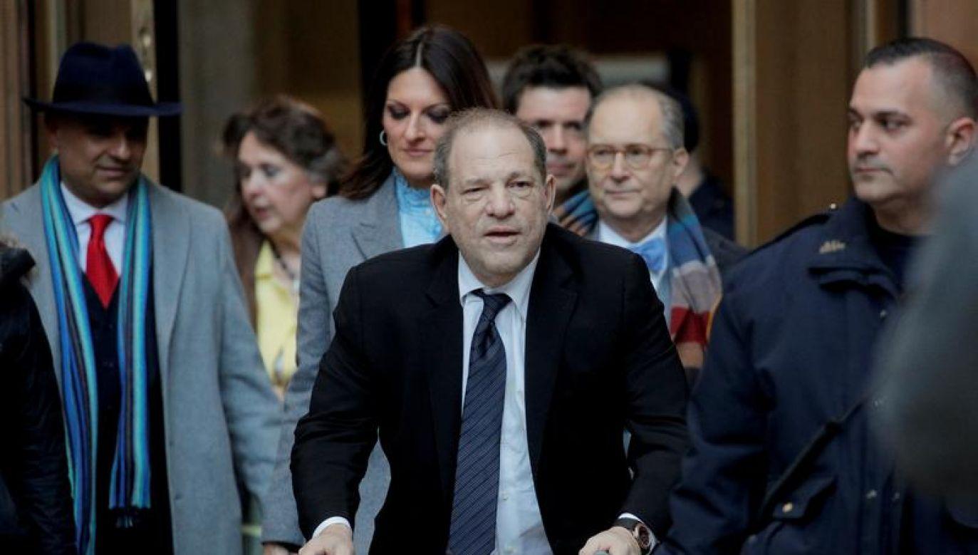 Weinstein nie przyznaje się do winy (fot. REUTERS/Brendan Mcdermid)