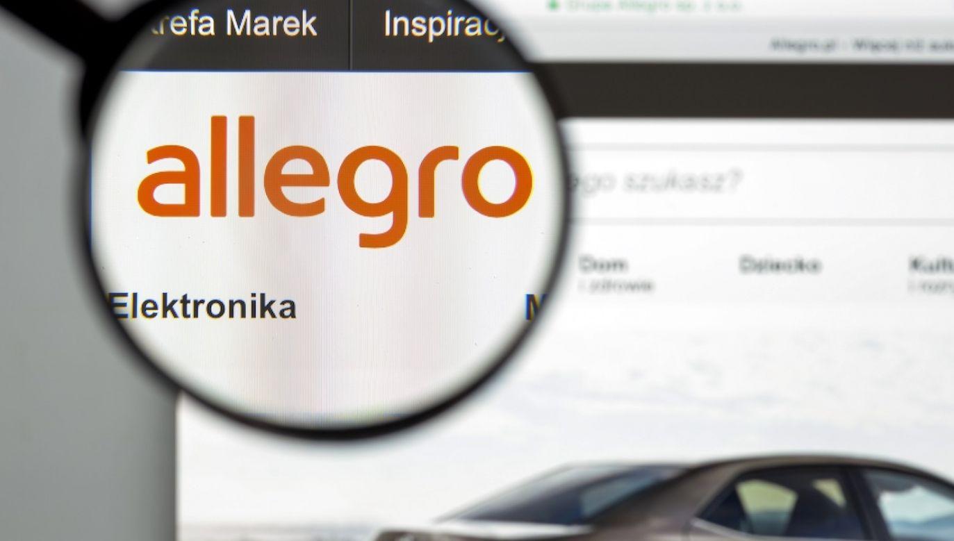 Kapitalizacja Allegro przebije dotychczasowego lidera warszawskiej GPW (fot. Shutterstock/Casimiro PT)