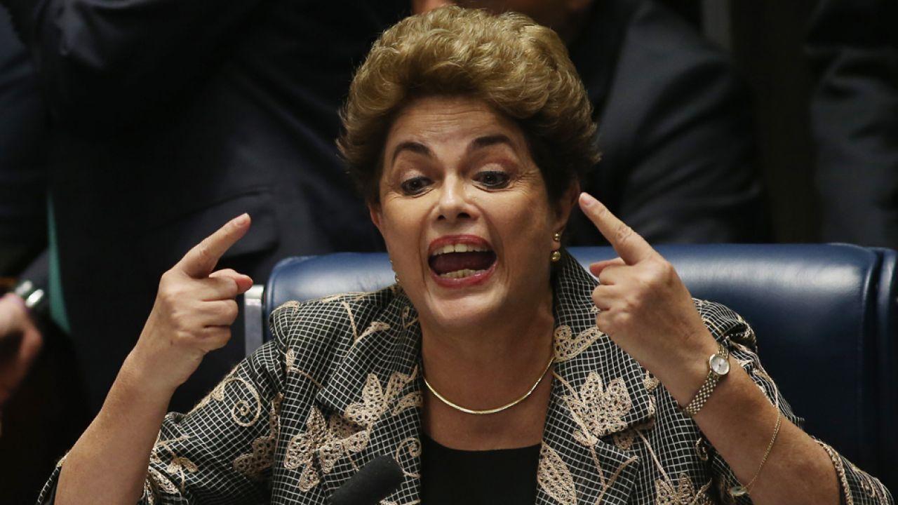Prezydent Brazylii Dilma Rousseff została usunięta ze stanowiska(fot. Mario Tama/Getty Images)