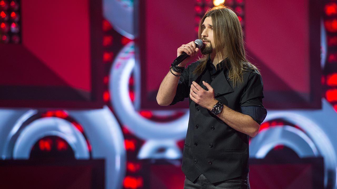 "Tomasz Bulzak w programie ""Szansa na sukces. Opole 2021"" (fot. TVP)"