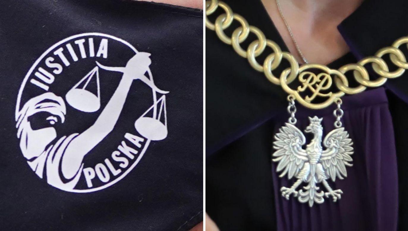 Debata nt. transpłciowości na sali sądowej (fot. Forum/Mateusz Wlodarczyk; PAP/Roman Zawistowski)