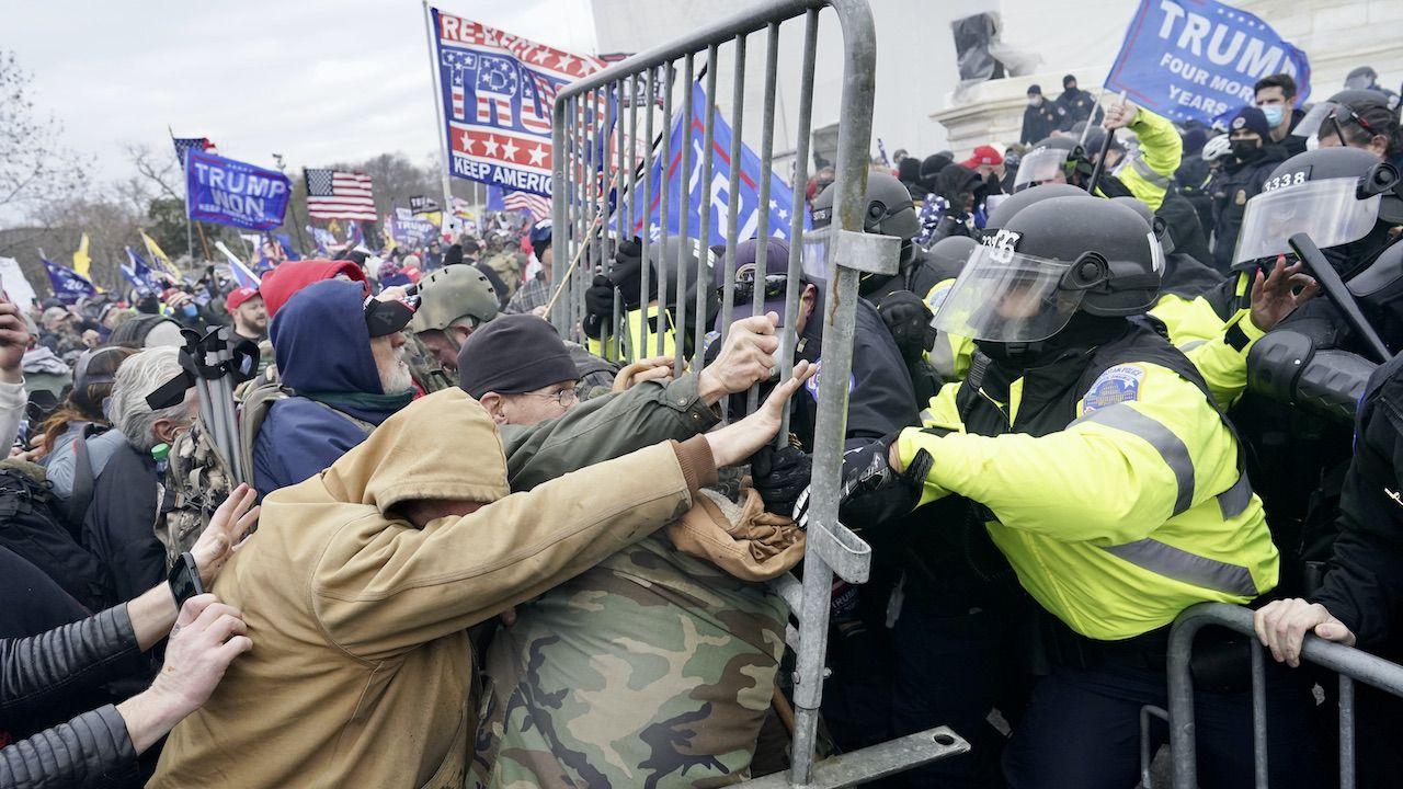 Wywiad USA ostrzega przed szturmem na Kapitol (fot. K.Nishimura /Los Angeles Times/Getty Images)