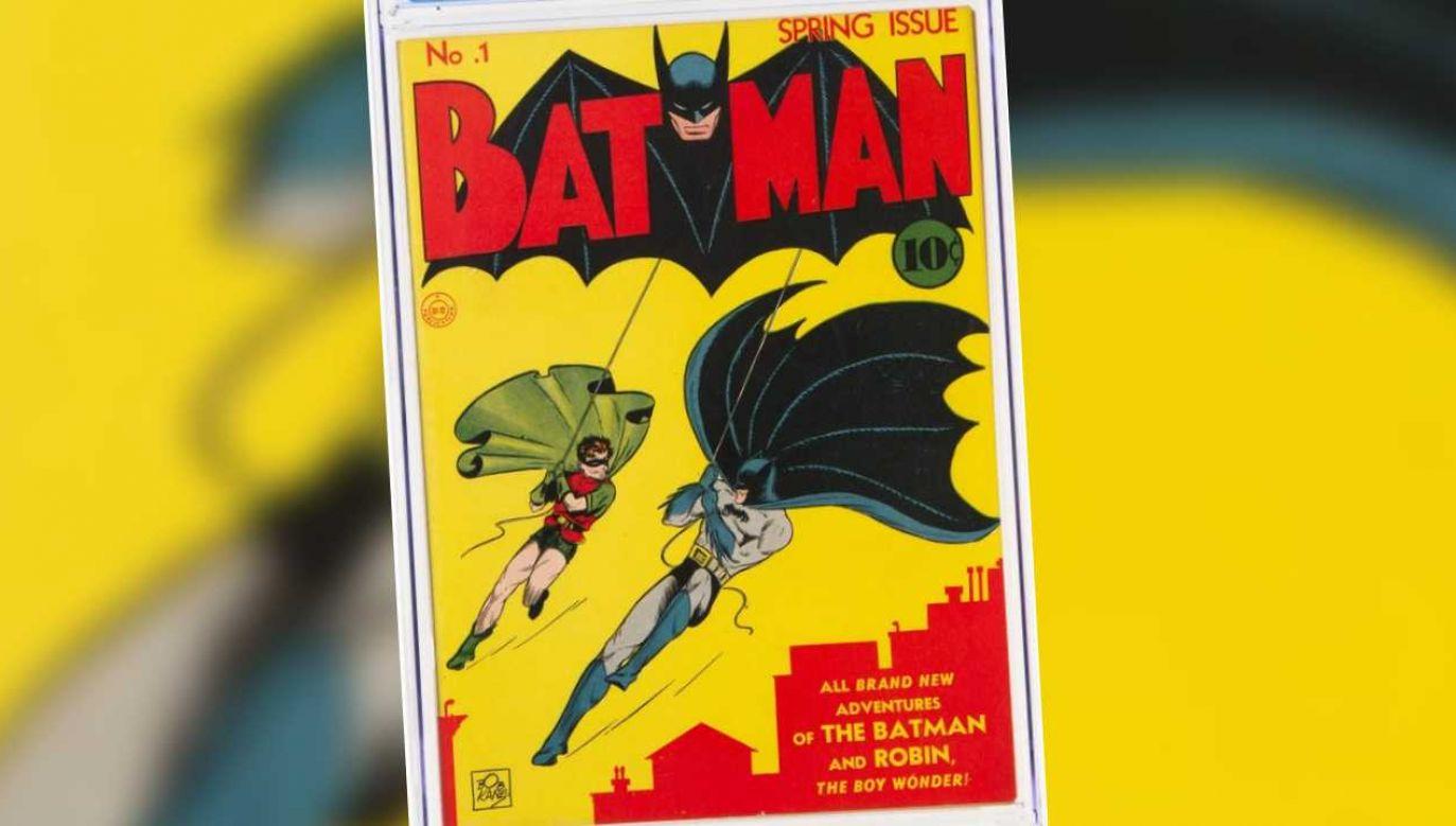 80 lat temu komiks kosztował 10 centów (fot. TT/Heritage Auctions/mat.pras.)
