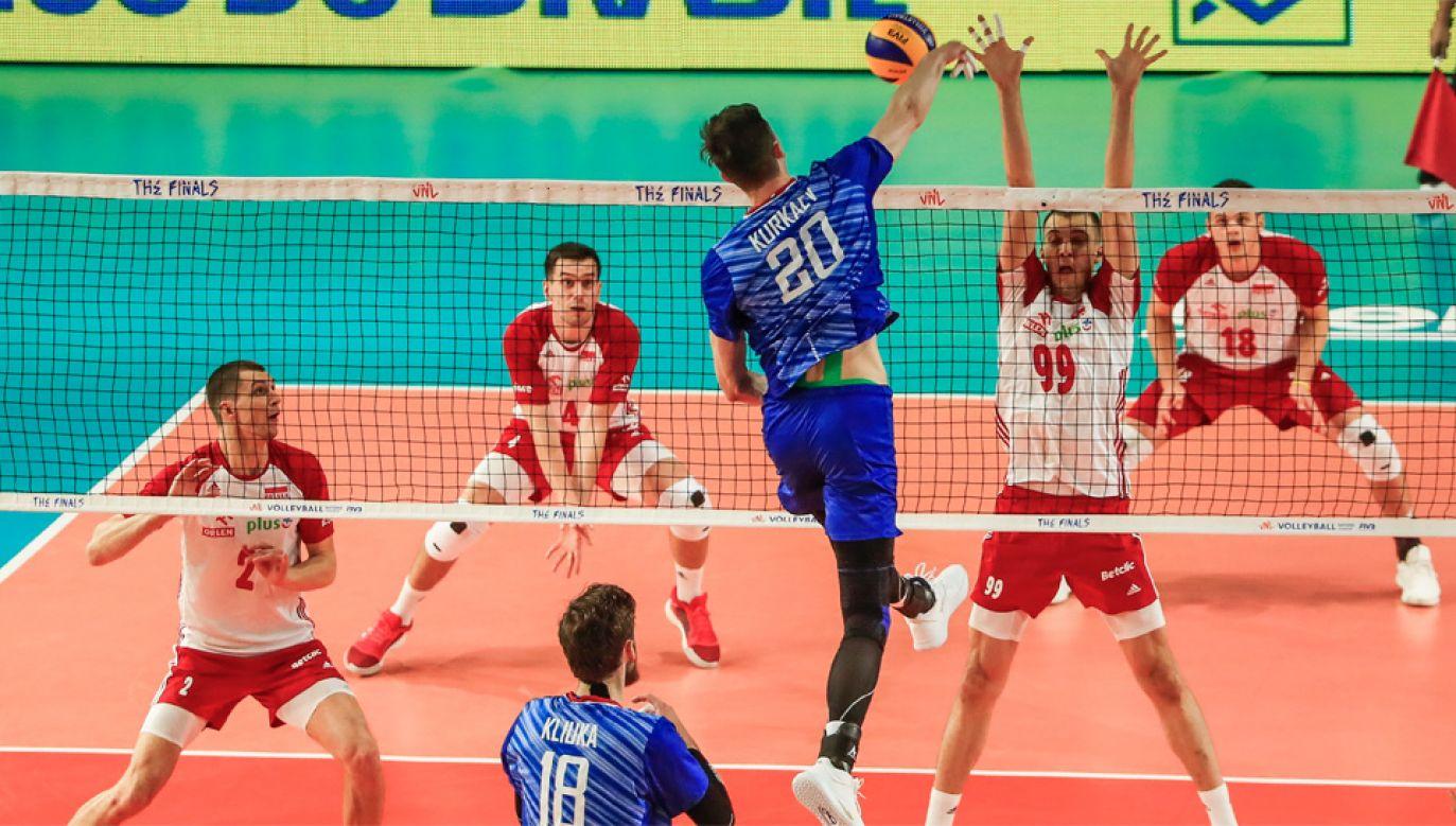 Polska drużyna wciąż może wrócić z Chicago z medalem (fot. PAP/EPA/TANNEN MAURY)