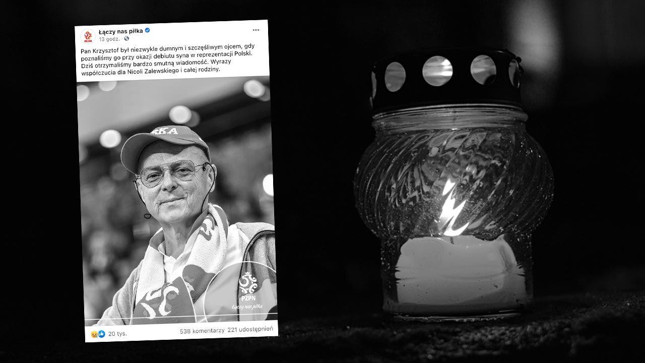 Mimo ciężkiej choroby, kilka tygodni przed śmiercią doczekał się debiutu syna w biało-czerwonych barwach (fot. Shutteretock/Martyn Jandula)