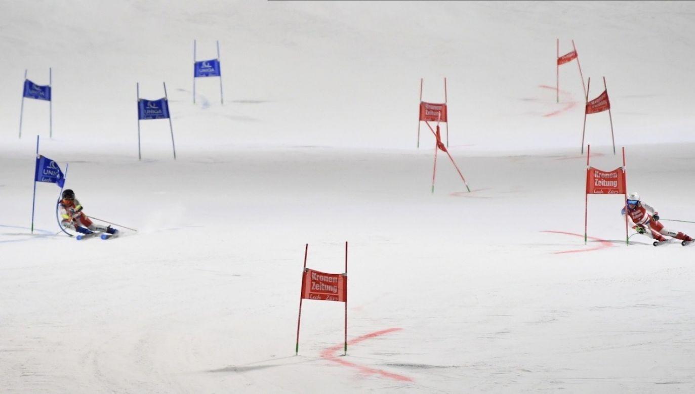 Odwołano zawody Pucharu Świata w narciarstwie alpejskim w Chinach (fot.  PAP/EPA/PHILIPP GUELLAND)