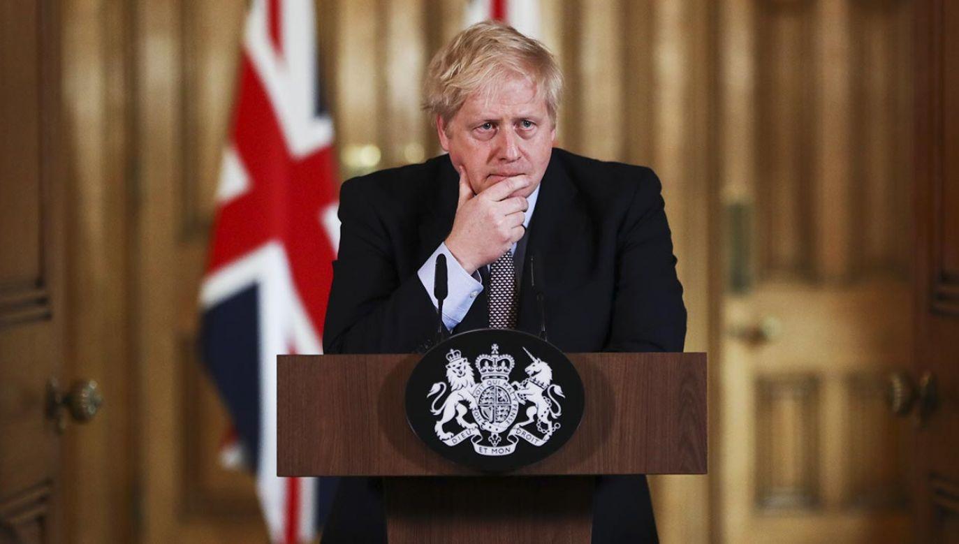 Obowiązki Borisa Johnsona przejął szef brytyjskiej dyplomacji Dominic Raab (fot. Simon Dawson/Bloomberg via Getty Images)