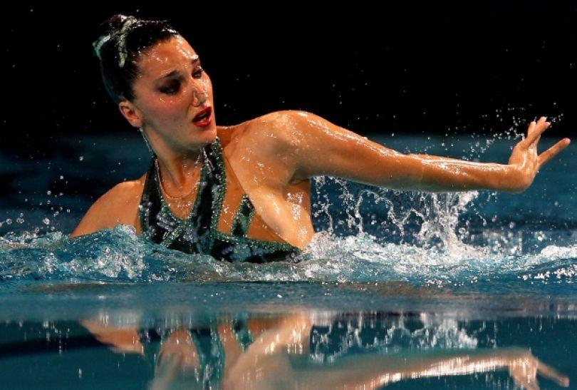 Hiszpanka Andrea Fuentes – srebro indywidualnie (fot. Getty Images)
